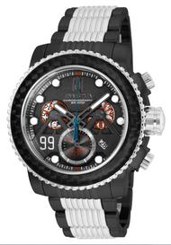 Invicta Men's 25676 Jason Taylor Quartz Chronograph Gunmetal Dial Watch