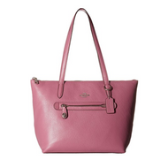 COACH Women's Taylor Tote in Pebbled Leather Sv/Primrose One Size 38312-SVPRI