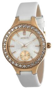 Invicta Women's 24558 Wildflower Quartz 3 Hand White Dial Watch