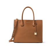 MICHAEL BY MICHAEL KORS WOMEN'S 30F6GM9T3L230 BROWN LEATHER HANDBAG30F6GM9T3L-230