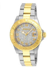 Invicta Women's 'Angel' Quartz Gold and Stainless Steel Casual Watch, Color:Two Tone (Model: 22709)