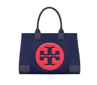 Tory Burch Ella Colorblock Nylon Bag - Royal Navy 36757-403