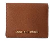Michael Kors Jet Set Travel Flap Card Holder LUGGAGE 32T4GTVF2L-230