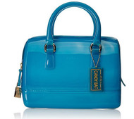 Furla Blue Cookie Mini-Satchel Handbag  791630