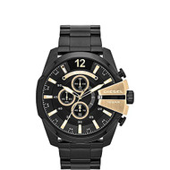 Diesel Men's DZ4338 Chief Analog Display Analog Quartz Black Watch