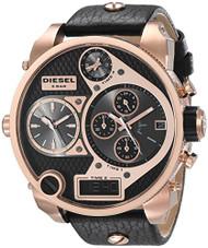 Diesel Men's DZ7261 The Daddies Series Analog Display Analog Quartz Black Watch