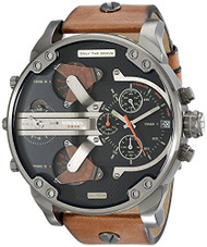 Diesel Men's DZ7332 Mr Daddy 2.0 Analog Display Analog Quartz Brown Watch