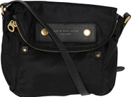 Marc By Marc Jacobs Women's Preppy Nylon Mini Natasha Nylon Cross-Body Satchel - Black