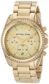 Michael Kors Golden Runway Watch with Glitz MK5166 [Watch] Michael Kors