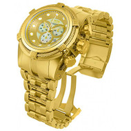 Invicta Bolt Chronograph Champagne Dial Yellow Gold-plated Mens Watch 12738 I...