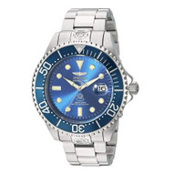 Invicta Men's 'Pro Diver' Automatic Stainless Steel Casual Watch, Color:Silver-Toned (Model: 13859)