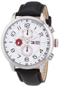 Tommy Hilfiger 1790858 Mens Silver and Black Tyler Watch [Watch]