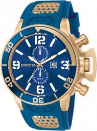 Invicta  Men's 10505 Corduba Quartz Multifunction Blue Dial Watch