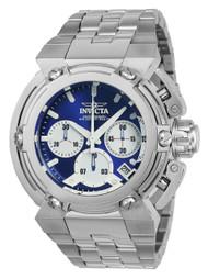 Invicta  Men's 22424 Coalition Forces Quartz Chronograph Blue, White Dial Watch