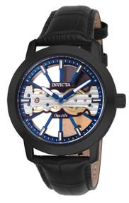 Invicta  Men's 25268 Objet D Art Mechanical 2 Hand Blue, Black Dial Watch