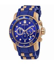 Invicta  Men's 18197 Pro Diver Quartz Chronograph Blue Dial Watch