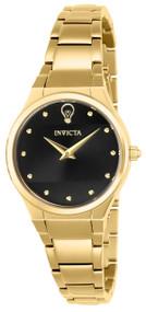 Invicta Women's 23279 Gabrielle Union Quartz 2 Hand Black Dial Watch
