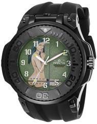 Invicta  Men's 25927 Reserve Quartz Chronograph Gunmetal, Green Dial Watch