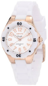 Invicta Women's 1630 Angel Collection Rubber Watch