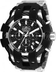 Invicta  Men's 26669 Bolt Quartz Chronograph Black Dial Watch