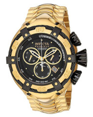 Invicta Men's 'Bolt' Swiss Quartz Stainless Steel Casual Watch, Color Gold-Toned (Model: 21346) …