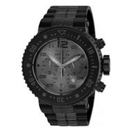 Invicta  Men's 25079 Pro Diver Quartz Chronograph Gunmetal Dial Watch