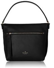 kate spade new york Cobble Hill Teagan Shoulder Bag, Black, One Size PXRU6478-001