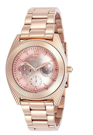 Invicta Angel Rose Gold Tone Ladies Watch 23750