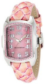Invicta Women's 10209 Baby Lupah Pink Mother Of Pearl Dial Multi-Colored Pink...