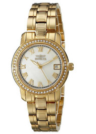 Invicta Women's 18079 Specialty Gold-Tone Stainless Steel Watch