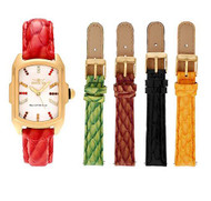 Invicta Women's Baby Lupah Quartz Crystal Accented Watch w/ Five-Piece Leather Strap Set …