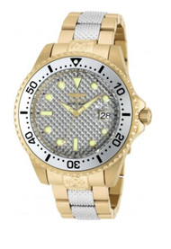 Invicta 47mm Grand Diver Automatic Carbon Fiber Dial Stainless Steel Brace 20117