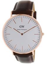 Daniel Wellington Men's 0109DW Classic Bristol Analog Display Quartz Brown Watch