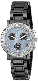 Invicta Women's 0728 Ceramics Collection Diamond-Accented Watch with Cerami...
