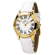 Invicta Angel White Dial Leather Strap Ladies Watch 15936 [Watch] Invicta
