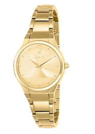 Invicta 23277 Women's Gabrielle Union Gold Dial Yellow Gold Steel Bracelet Watch …