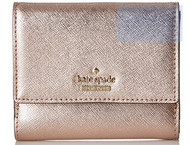 kate spade new york Cameron Street Tavy Wallet, Rose Gold, One Size PWRU5092-705
