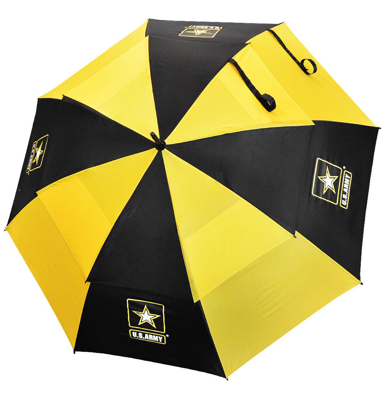 Hot z golf 62 double canopy military golf umbrella army for Canopy umbrella