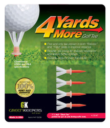 4 Yards More - Plastic Golf Tees