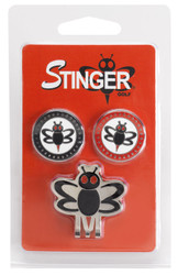 Stinger Golf- Hat Clip Ball Marker Set