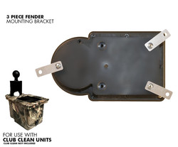 Club Clean Golf - 3 Piece Fender Bracket