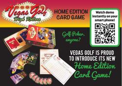 Vegas Golf- Home Edition Card Game