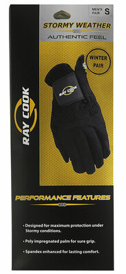 Ray Cook Golf- Stormy Weather Winter Golf Gloves (1 Pair)