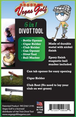 Vegas Golf - 6 in 1 Divot Tool