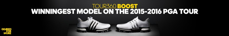 Adidas Tour360 Shoes Banner