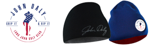 Free John Daly Beanie w/ Rainsuit Purchase