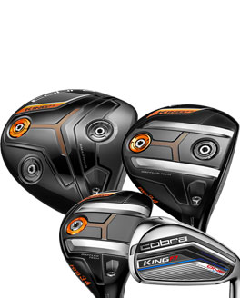 New For 2017! Cobra King F7 Clubs at Rock Bottom Golf!