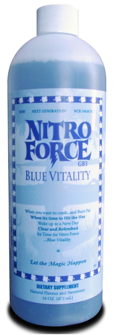 Nitro Force (Blue Vitality) 16oz Cloma Pharma Labs