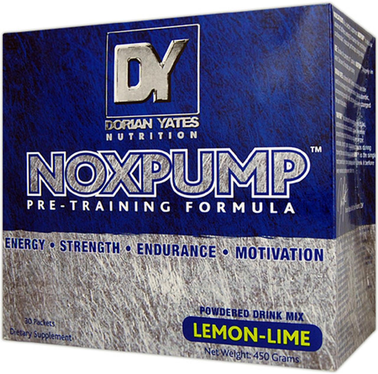 NoxPump 30pk Dorian Yates Nutrition