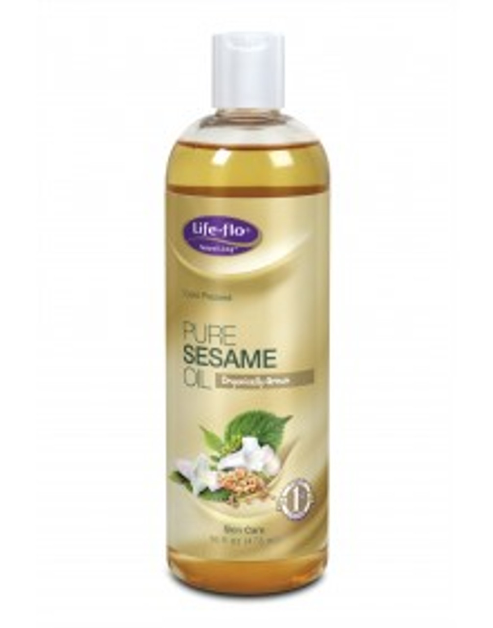 Sesame Oil Pure 16oz Life Flo